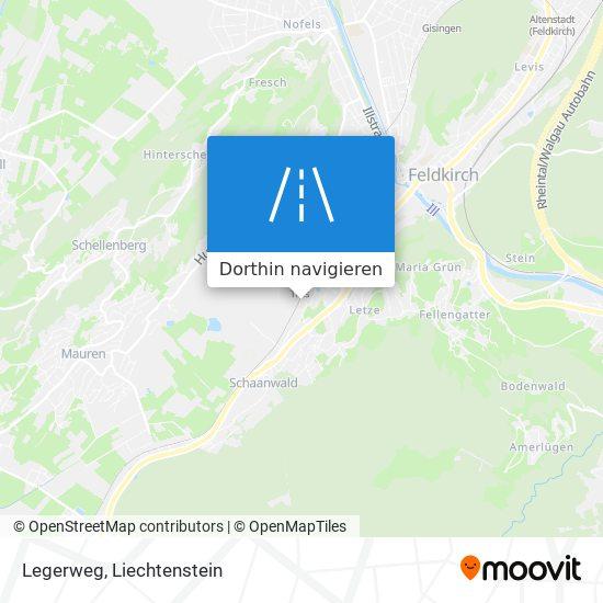 Legerweg Karte