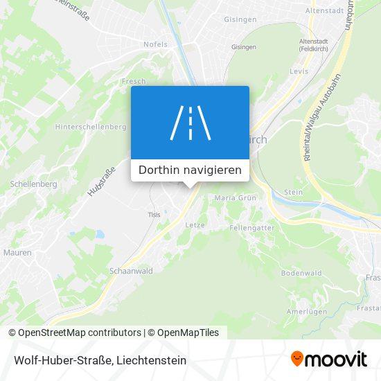 Wolf-Huber-Straße Karte