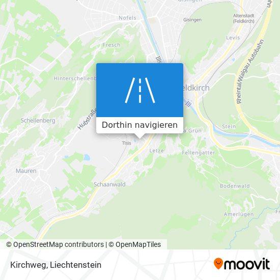 Kirchweg Karte