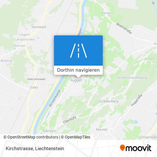 Kirchstrasse Karte