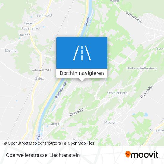 Oberweilerstrasse Karte