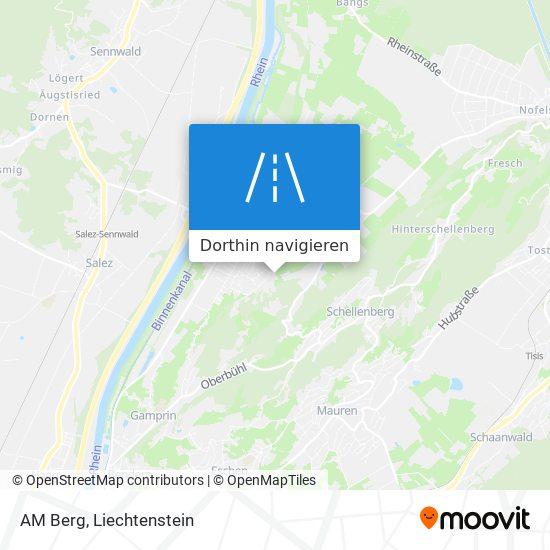 AM Berg Karte