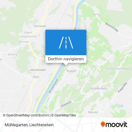 Mühlegarten Karte