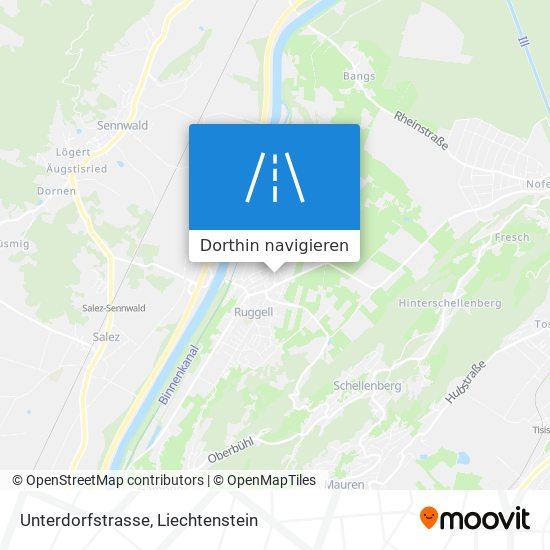 Unterdorfstrasse Karte