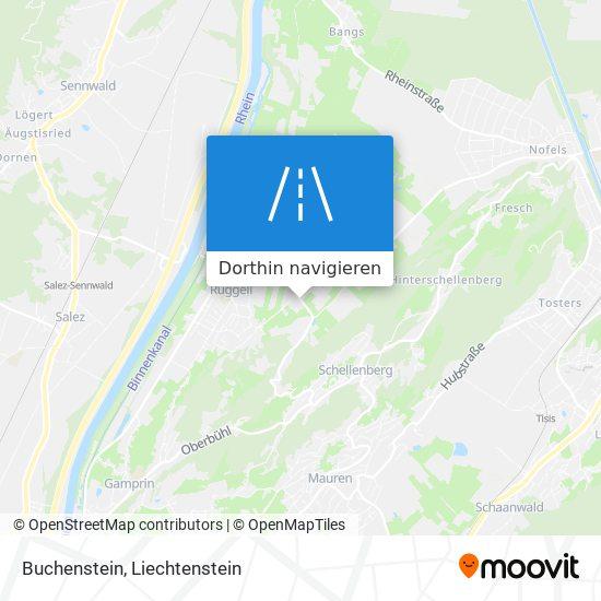 Buchenstein Karte