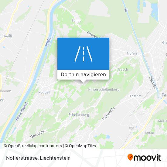 Noflerstrasse Karte