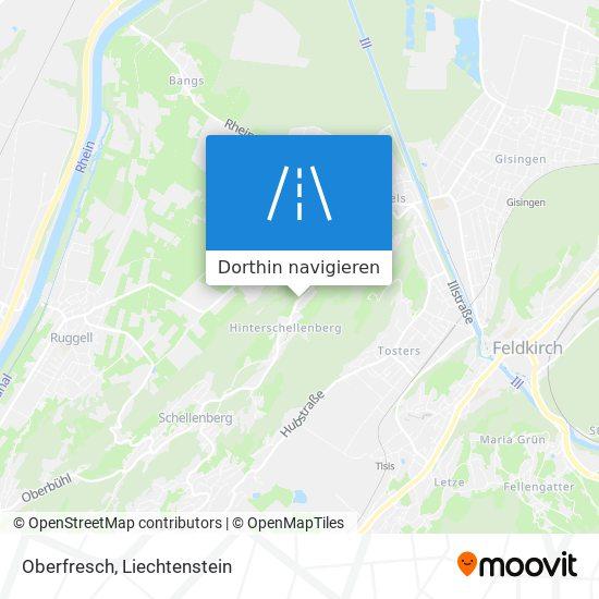 Oberfresch Karte