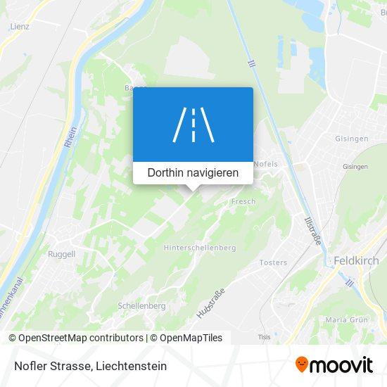 Nofler Strasse Karte