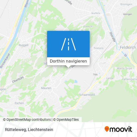 Rütteleweg Karte