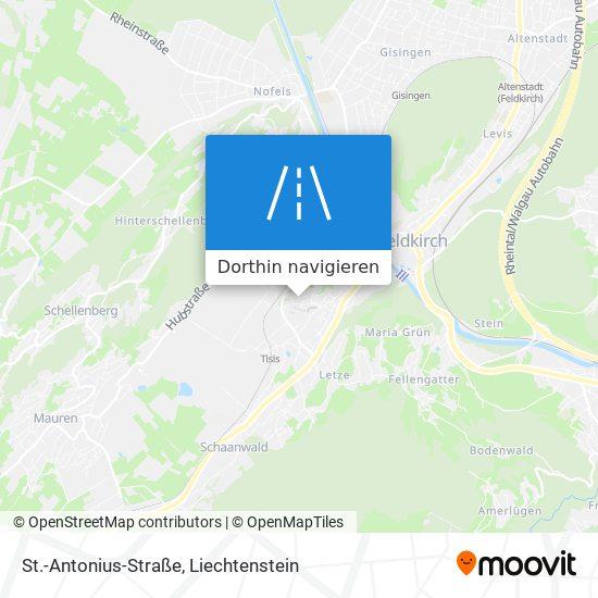 St.-Antonius-Straße Karte
