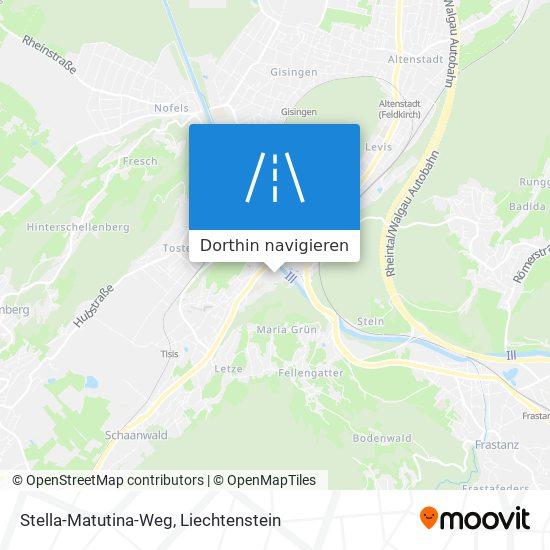 Stella-Matutina-Weg Karte