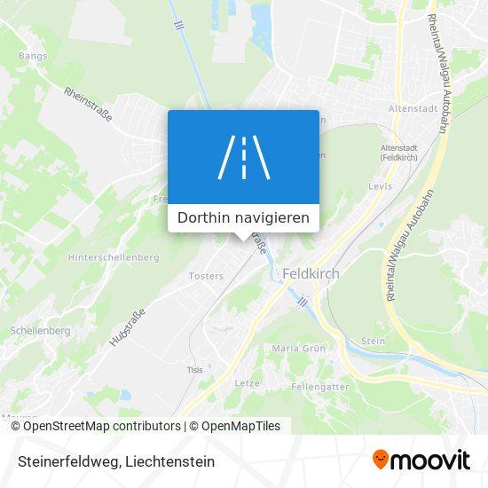 Steinerfeldweg Karte