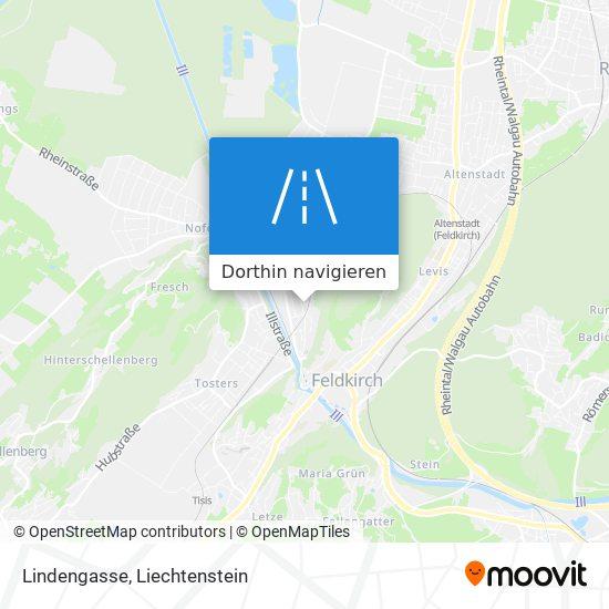 Lindengasse Karte