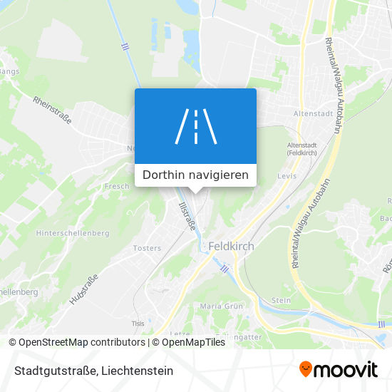 Stadtgutstraße Karte
