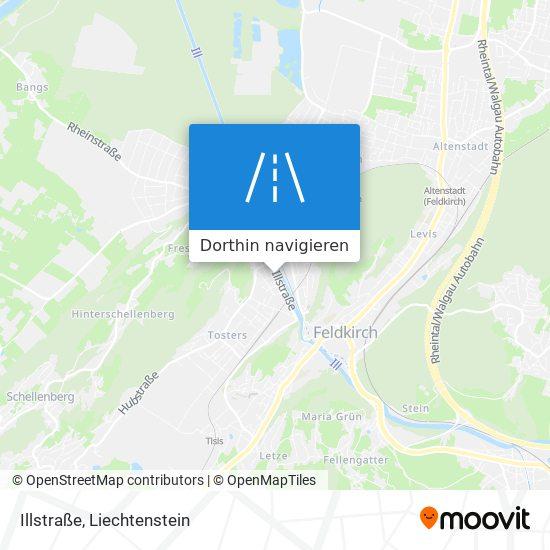 Illstraße Karte