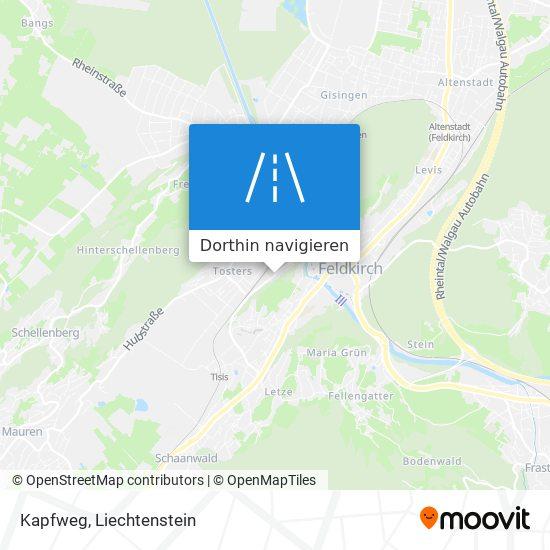 Kapfweg Karte