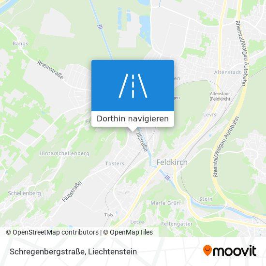 Schregenbergstraße Karte