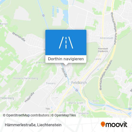 Hämmerlestraße Karte