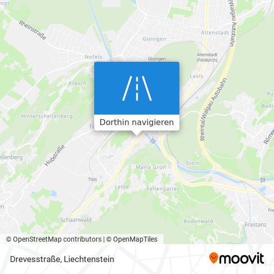 Drevesstraße Karte