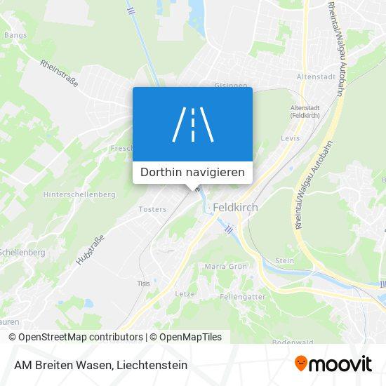 AM Breiten Wasen Karte