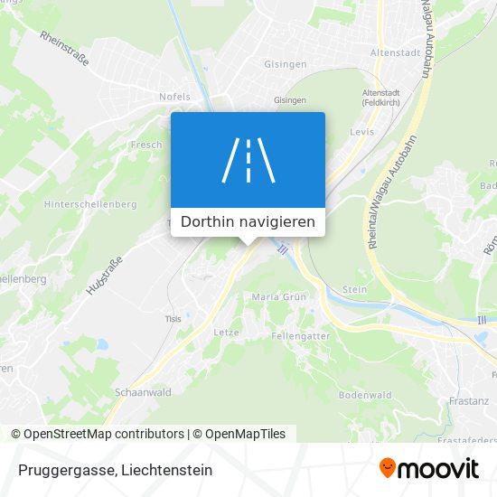 Pruggergasse Karte