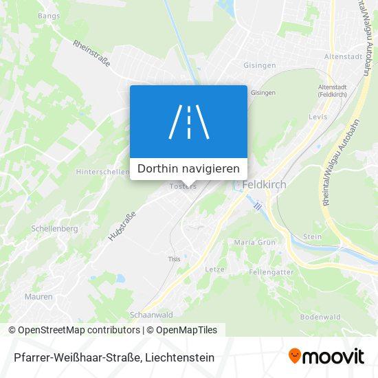 Pfarrer-Weißhaar-Straße Karte