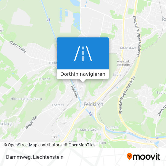 Dammweg Karte