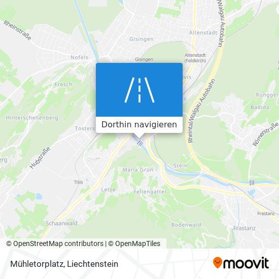 Mühletorplatz Karte