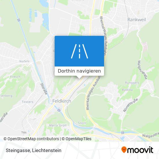 Steingasse Karte