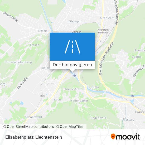 Elisabethplatz Karte