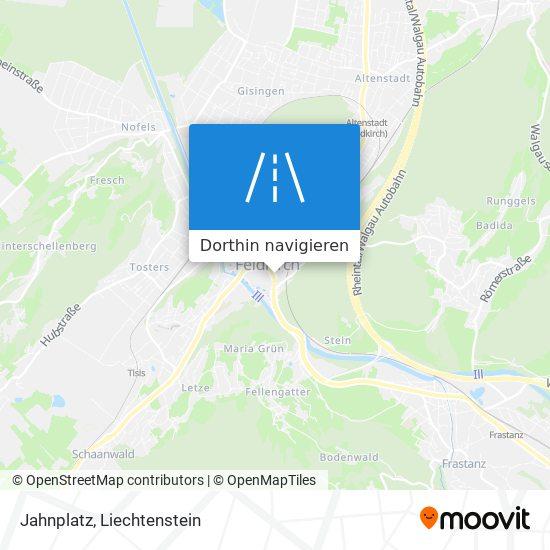 Jahnplatz Karte