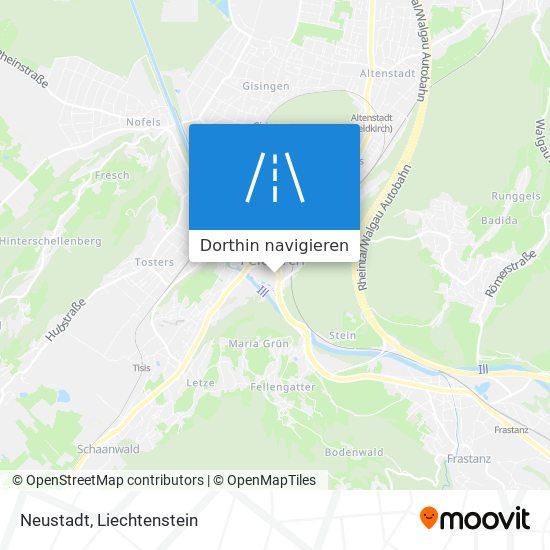 Neustadt Karte