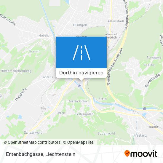 Entenbachgasse Karte