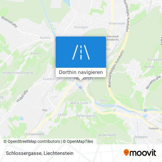 Schlossergasse Karte