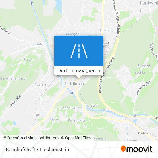 Bahnhofstraße Karte