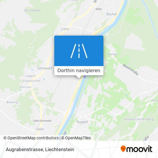 Augrabenstrasse Karte