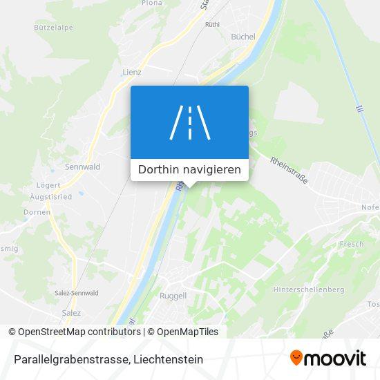 Parallelgrabenstrasse Karte