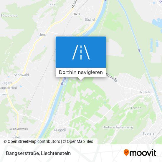 Bangserstraße Karte