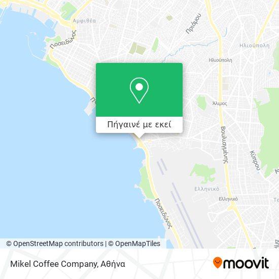 Mikel Coffee Company χάρτης