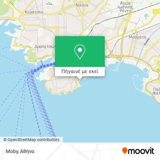 Moby χάρτης