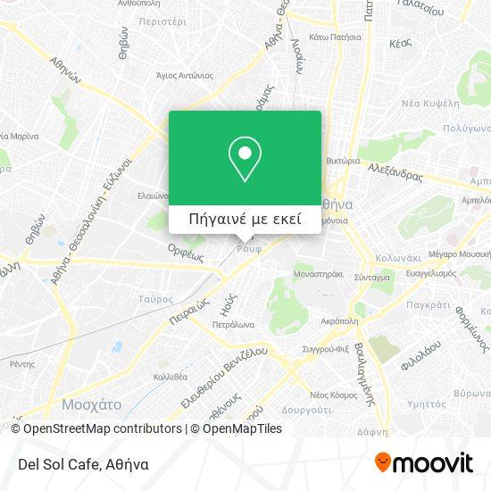 Del Sol Cafe χάρτης