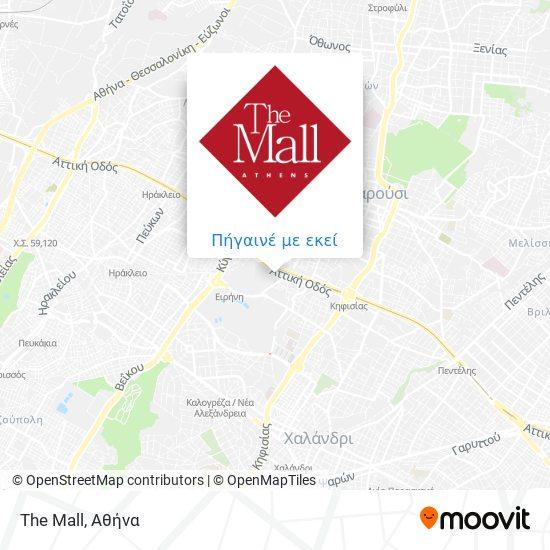 The Mall χάρτης