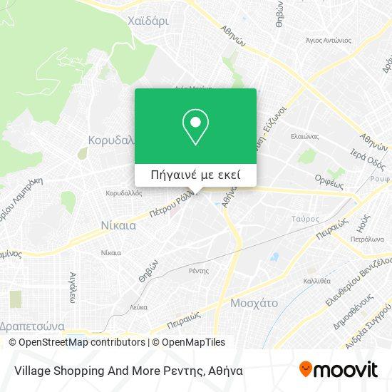 Village Shopping And More Ρεντης χάρτης