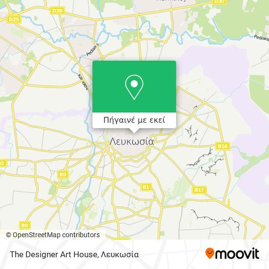 The Designer Art House χάρτης