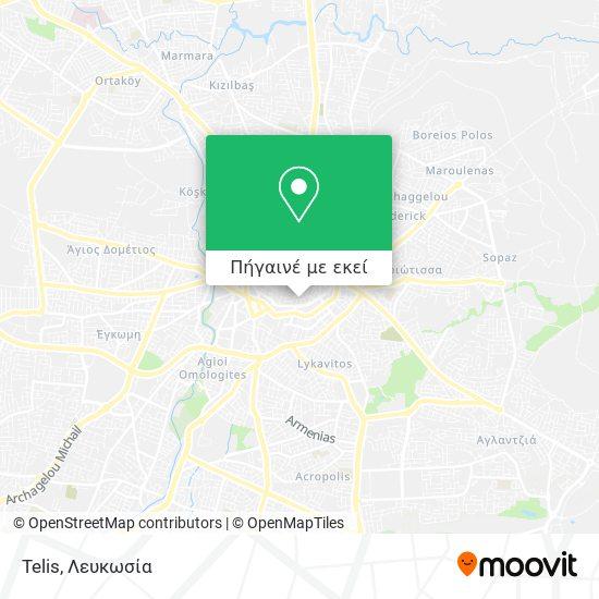 Telis χάρτης