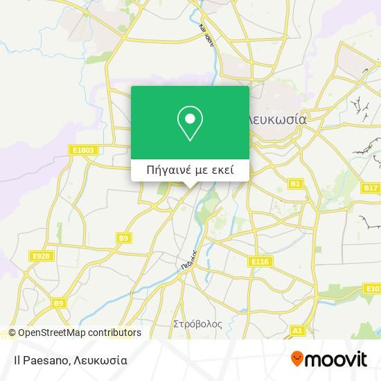 Il Paesano χάρτης