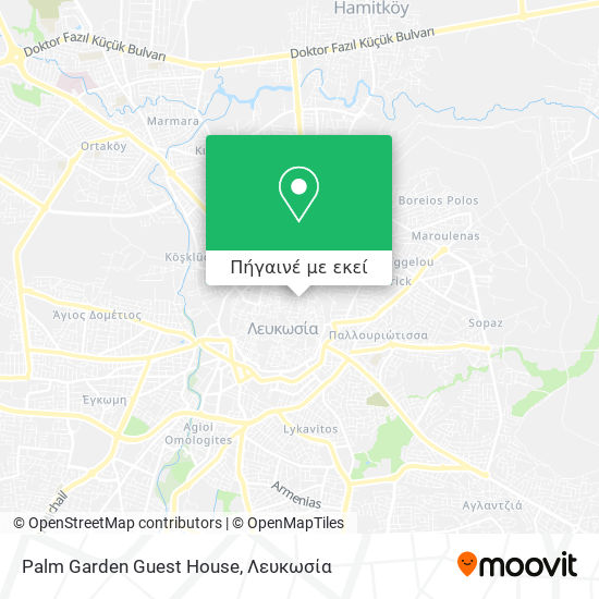 Palm Garden Guest House χάρτης
