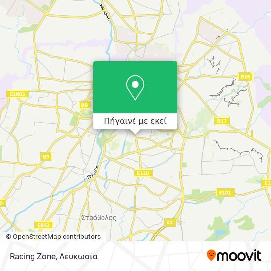 Racing Zone χάρτης
