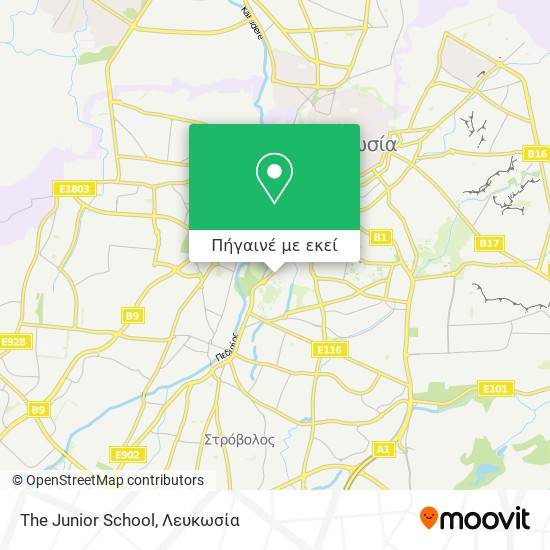The Junior School χάρτης