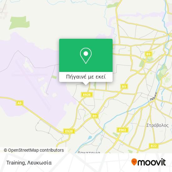 Training χάρτης